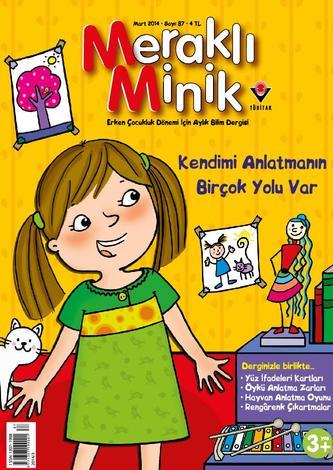 Mart Ayı Çocuk Dergileri